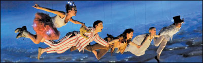 'Peter Pan' set to fly from