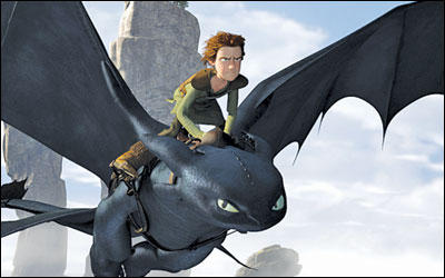 DreamWorks hitches up with 'Dragon' train